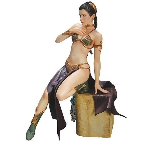 Return of the Jedi: Slave Leia 1/7th Scale Vinyl model kit (Carrie Fisher)