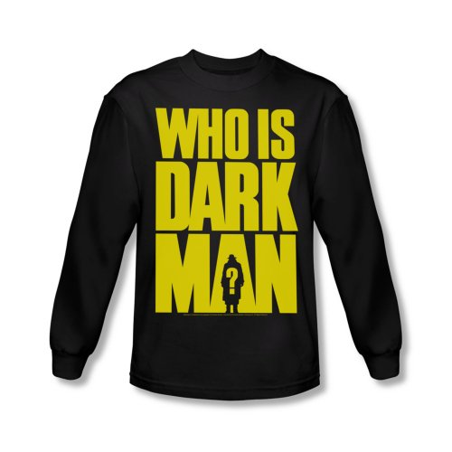 Darkman Who Is Darkman Men's Black T-Shirt