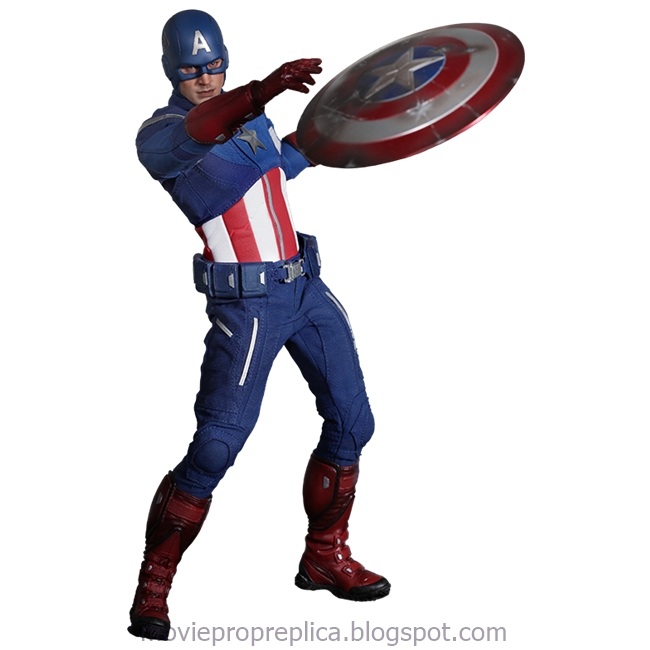 The Avengers: Captain America 1/6th Scale Figure (Chris Evans)