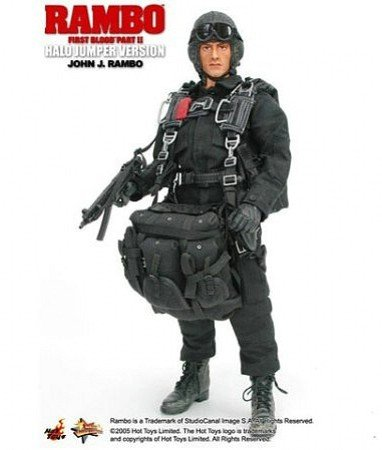 Rambo: First Blood II: John J. Rambo - Halo Version 1/6th Scale Figure (Sylvester Stallone)