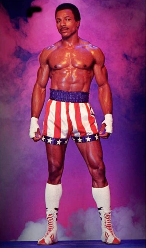 Carl Weathers as Apollo Creed