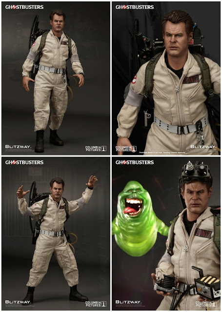 Ghostbusters 1984: Raymond Stantz 1/6th Scale Action Figure (Dan Aykroyd)