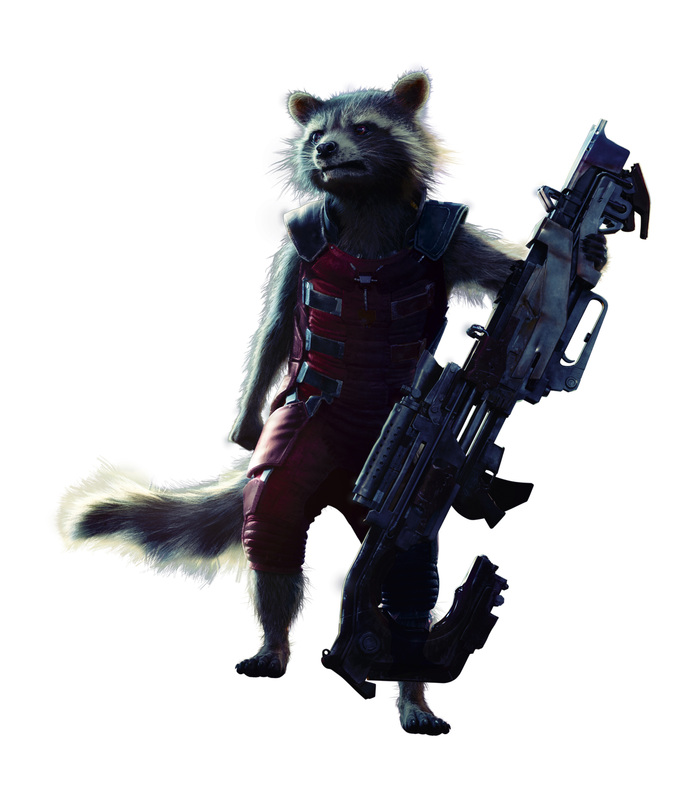 Bradley Cooper as Rocket: Guardians of the Galaxy