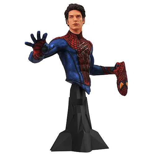 The Amazing Spider-Man Movie Maskless Bust (Andrew Garfield)