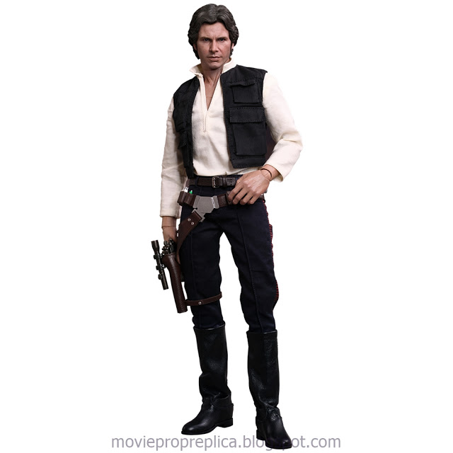 Star Wars Episode IV: A New Hope!: Han Solo 1/6th Scale Figure (Harrison Ford)