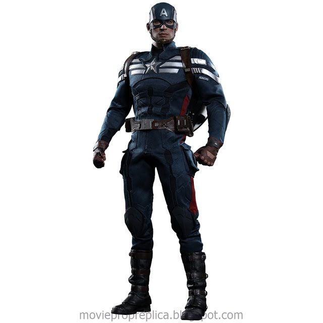Captain America: The Winter Soldier: Captain America – Stealth S.T.R.I.K.E. Suit 1/6th Scale Figure Set (Chris Evans)