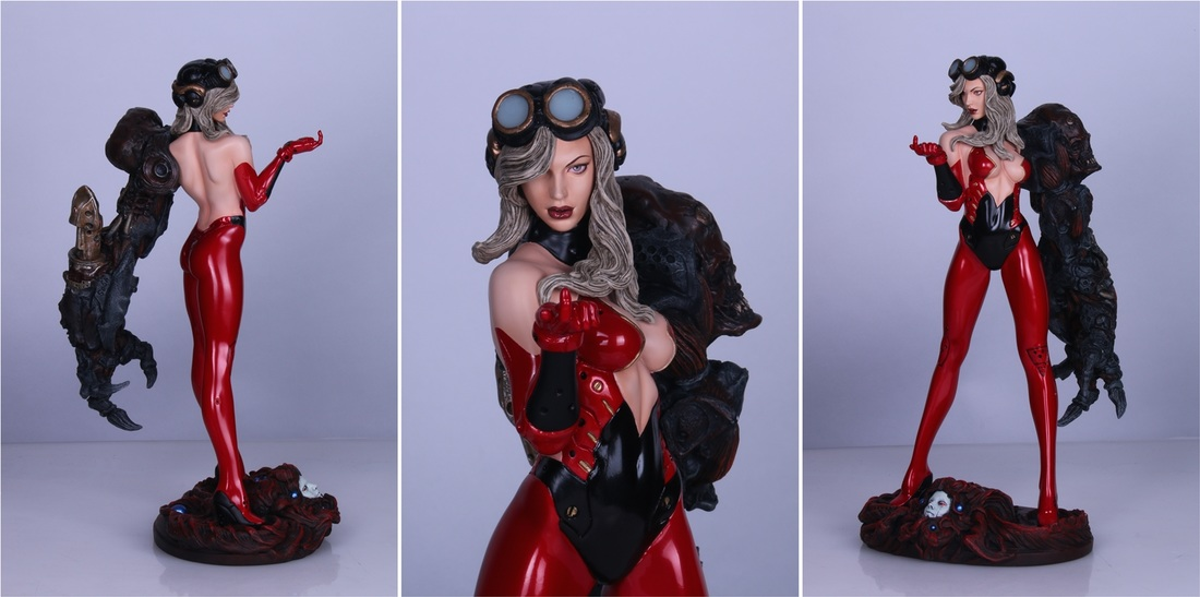 Space Host Girl (Erick Sosa) 1/6th Scale Resin Statue Web Exclisive ver