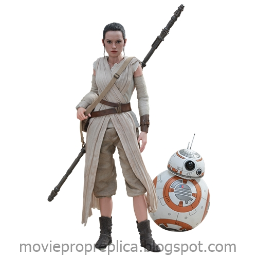 Star Wars: The Force Awakens: Rey and BB-8 1/6th Scale Figure (Daisy Ridley)