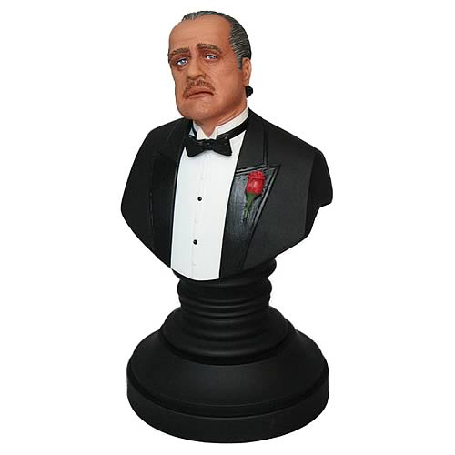 The Godfather: Marlon Brando as Vito Corleone Bust