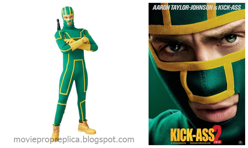 Aaron Johnson as Kick-Ass: Kick-Ass 2 Movie Collectible Figure