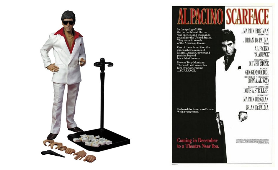 Al Pacino as Tony Montana: Scarface Real Masterpiece Collectible Action Figure