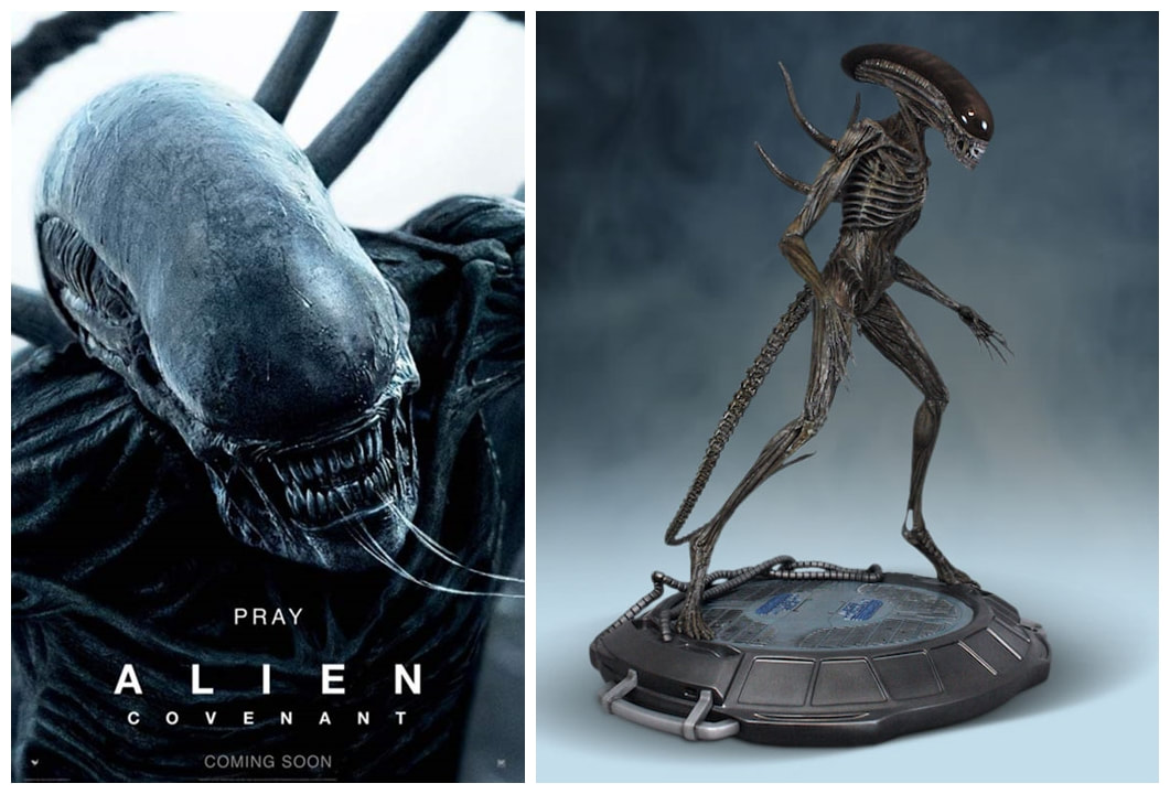 Alien Covenant: Xenomorph Collectible Figure Statue