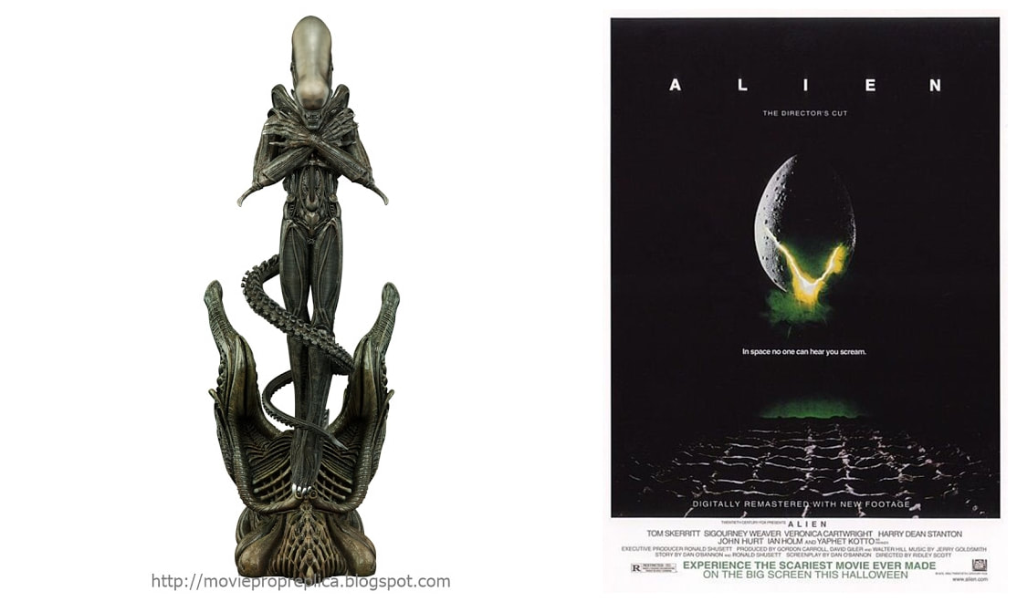Alien Movie: Alien Internecivus raptus Collectible Figure Statue