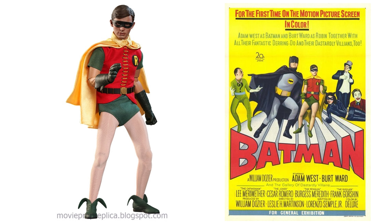 Burt Ward as Robin: Batman 1960s TV series Collectible Figure