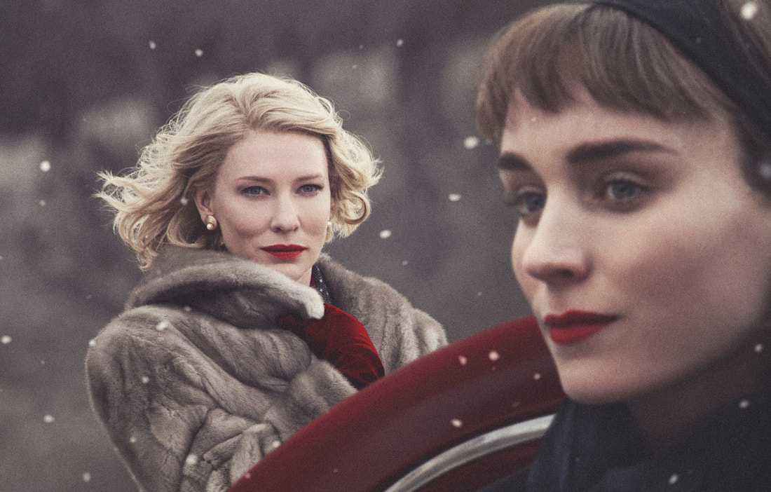 Cate Blanchett as Carol Aird & Rooney Mara as Therese Belivet
