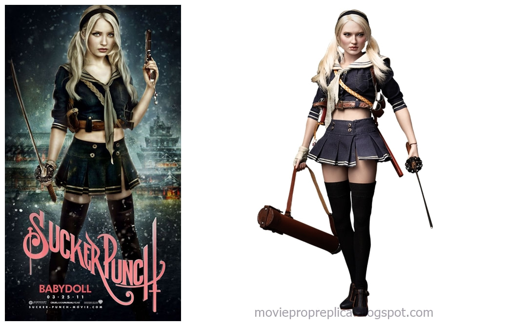 Emily Browning as Babydoll: Sucker Punch Movie Collectible Figure