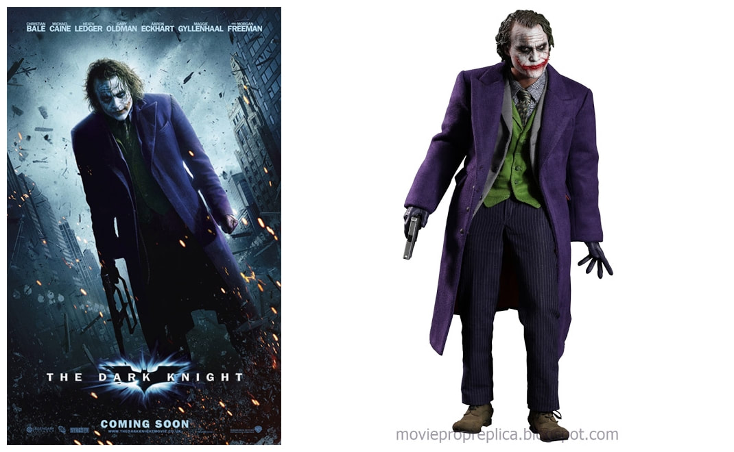 Heath Ledger as The Joker: The Dark Knight Movie Collectible Figure