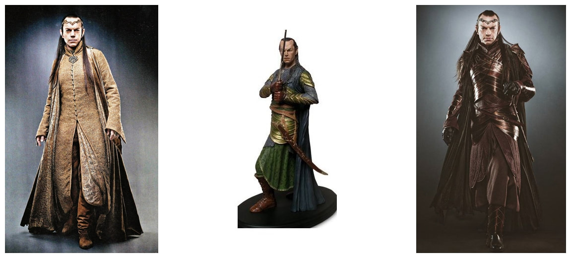 Hugo Weaving as Elrond: The Lord of the Rings Movie Collectible Figure Statue