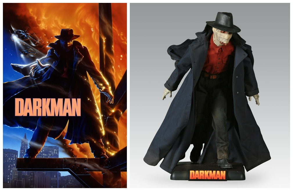 Liam Neeson as Peyton Westlake / Darkman: Darkman Movie Collectible Figure Statue