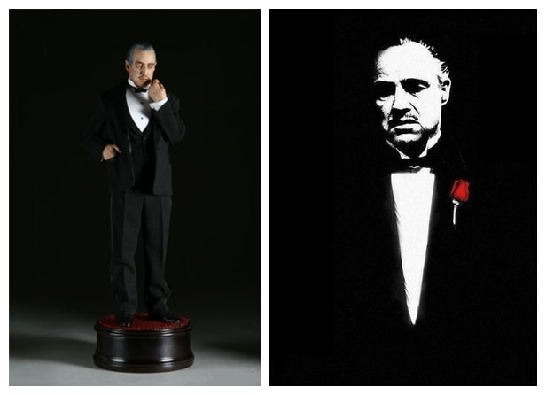 Marlon Brando as Don Vito Corleone: The Godfather Movie Collectible Figure Statue