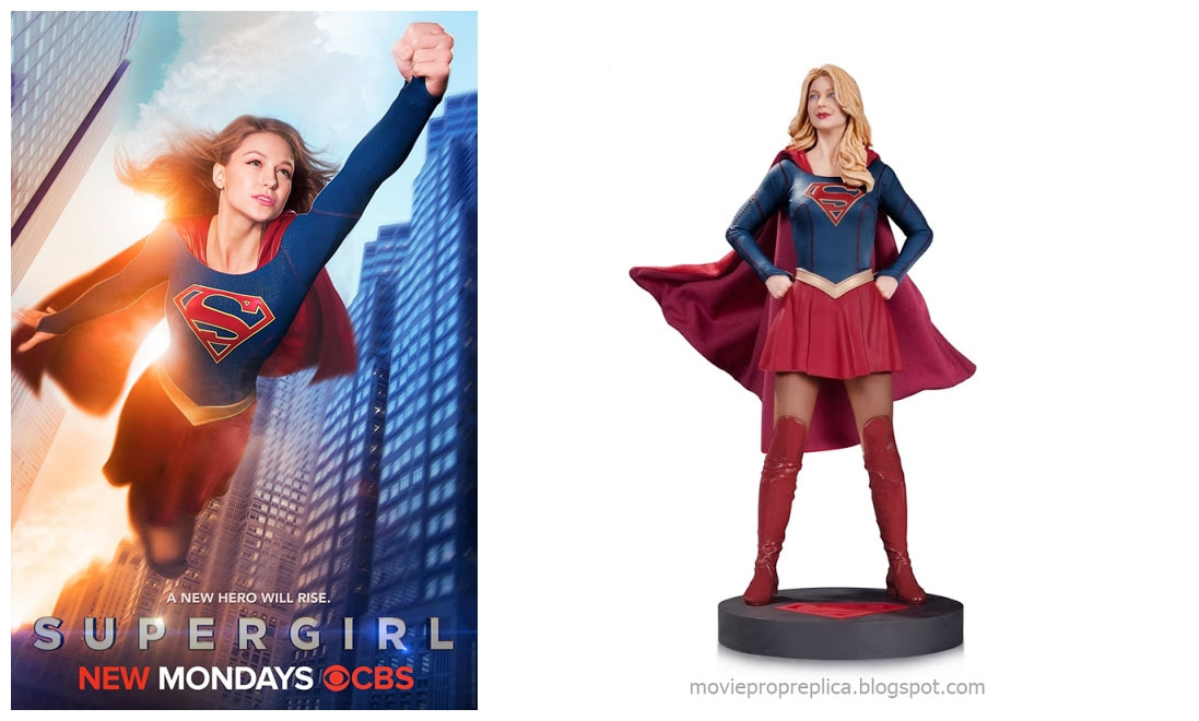 Melissa Benoist as Kara Zor-El: Supergirl TV Series Collectible Figure Statue