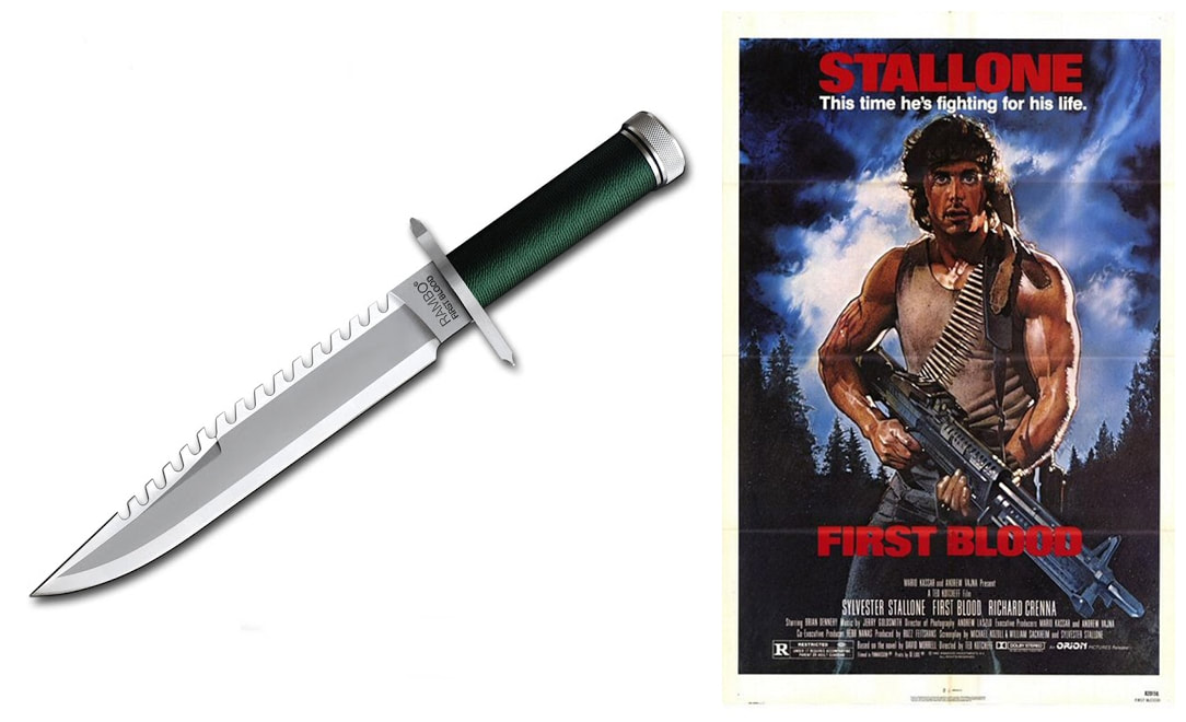 Rambo Knives Masterpiece Collection: Rambo First Blood Knife