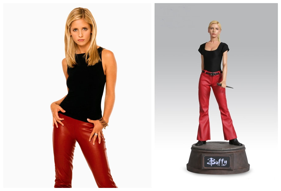 Sarah Michelle Gellar as Buffy Summers: Buffy the Vampire Slayer TV Series Collectible Figure Statue