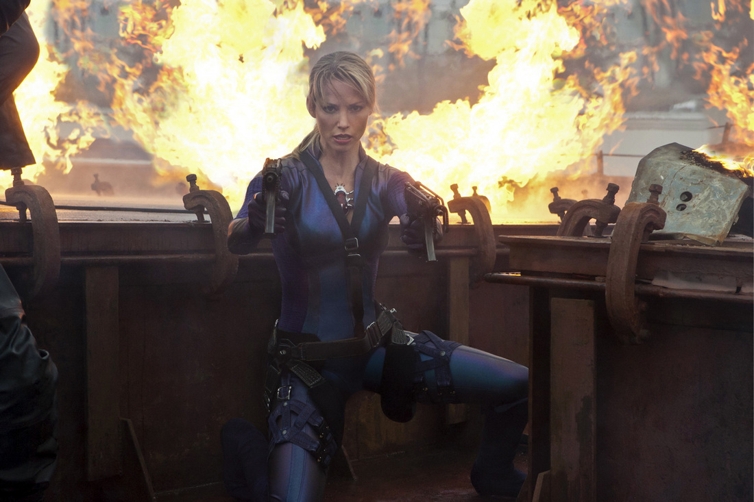 Sienna Guillory as Jill Valentine: Resident Evil: Retribution