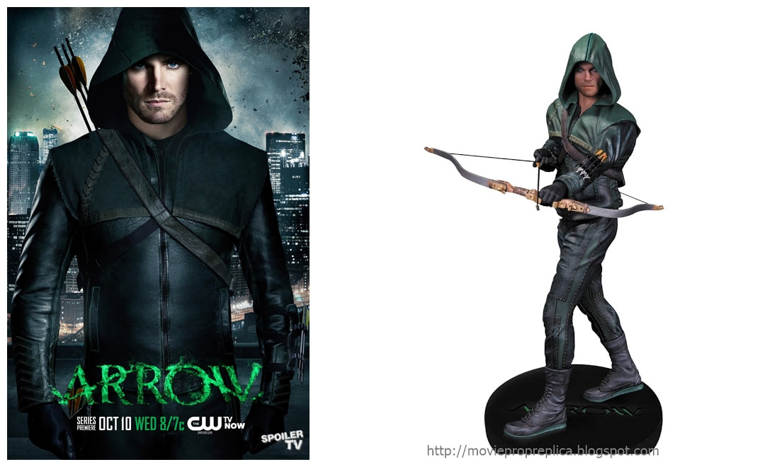 Stephen Amell as Oliver Queen: Arrow TV Series Collectible Figure Statue