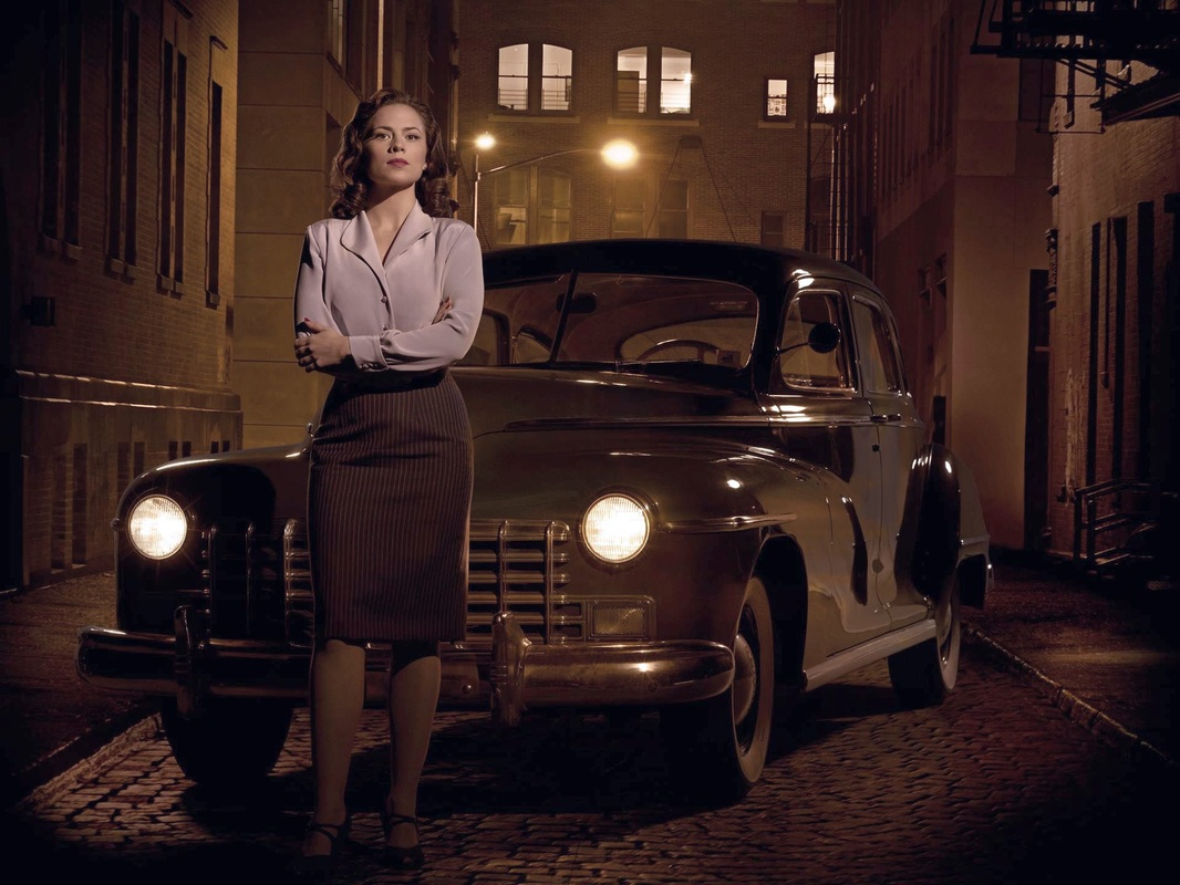 Hayley Atwell as Peggy Carter: Agent Carter