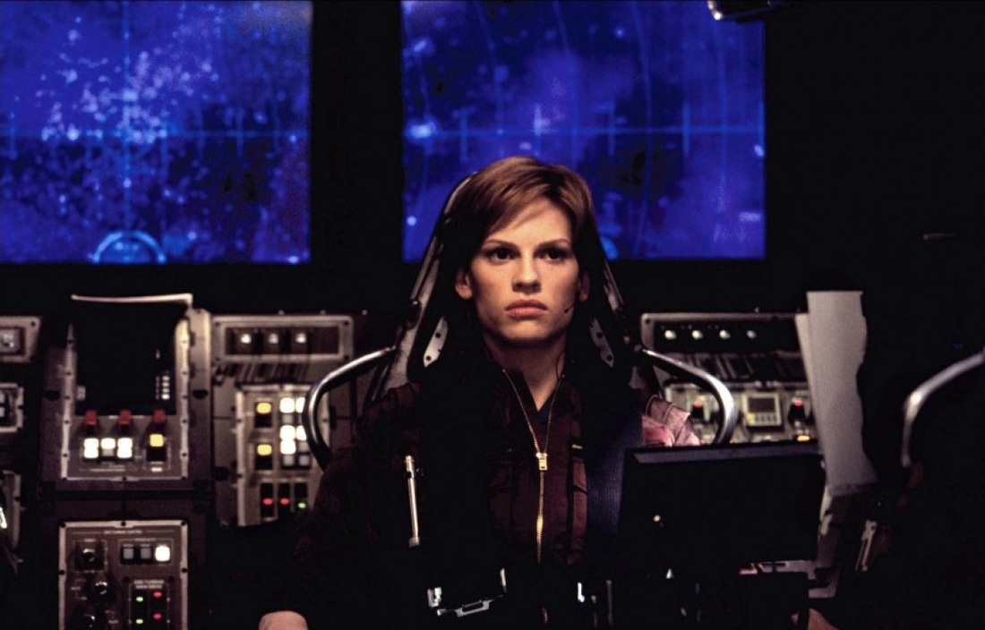 Hilary Swank as Major Rebecca Childs / Beck: The Core