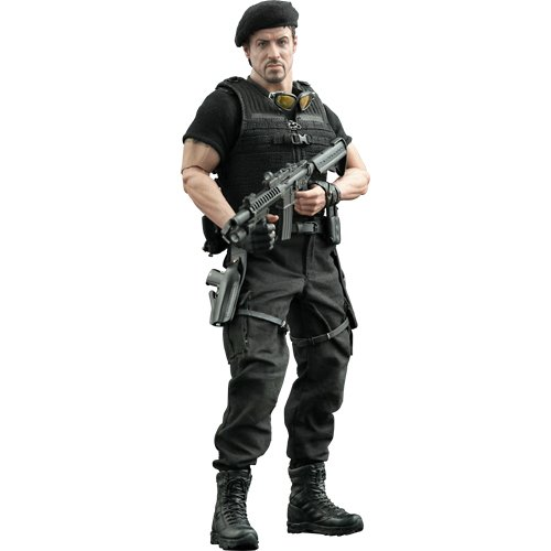 The Expendables: Barney Ross 1/6th Scale Figure (Sylvester Stallone)