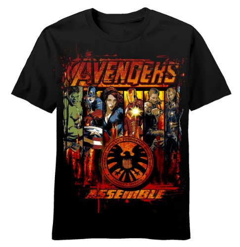 Marvel Avengers Youth T-Shirt Primed and Ready