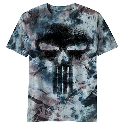 The Punisher - Black Death All-Over T-Shirt