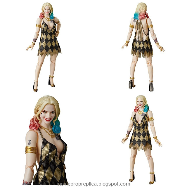 Suicide Squad: Harley Quinn Dress Version 1/4th Scale Figure (Margot Robbie)