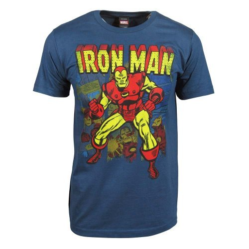 Marvel Men's Iron Man Panes T-Shirt