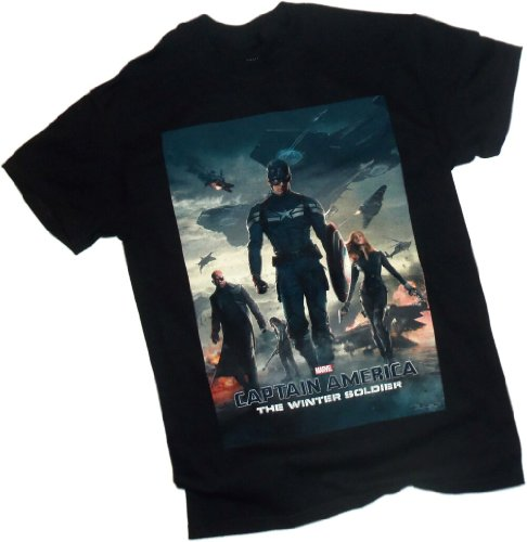 Theater Poster -- Captain America The Winter Soldier Movie T-Shirt