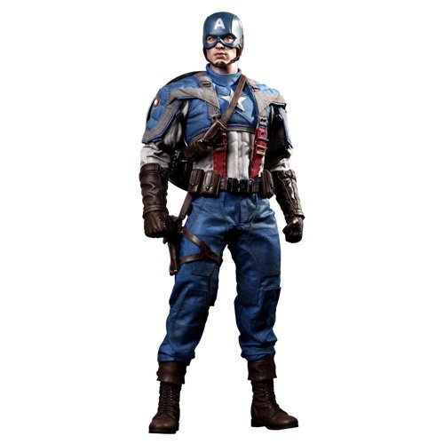 Chris Evans as Steve Rogers: Captain America The First Avenger Collectible Figure
