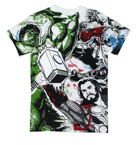 Avengers All Over - Avengers T-shirt