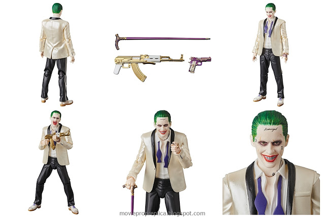 Suicide Squad: The Joker (Suit Version) Figure (Jared Leto)