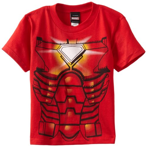 Marvel Little Boys' Ironman Jumbo Juvy Tee