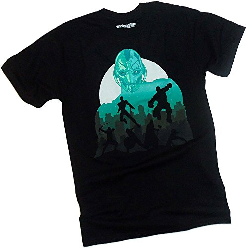 Ultron In The City -- Avengers Age Of Ultron T-Shirt