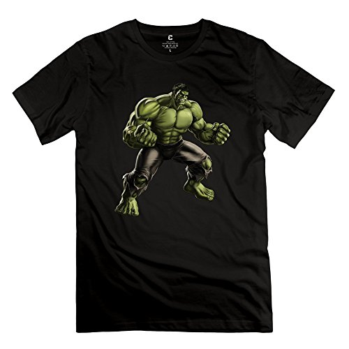 Cool Short-Sleeves Avengers Hulk T Shirt For Men's