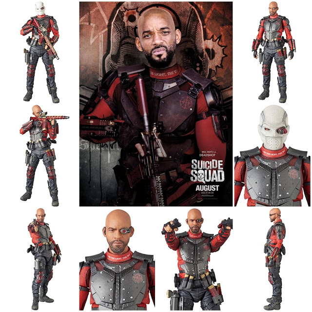 Suicide Squad: Deadshot MAF Ex Action Figure (Will Smith)