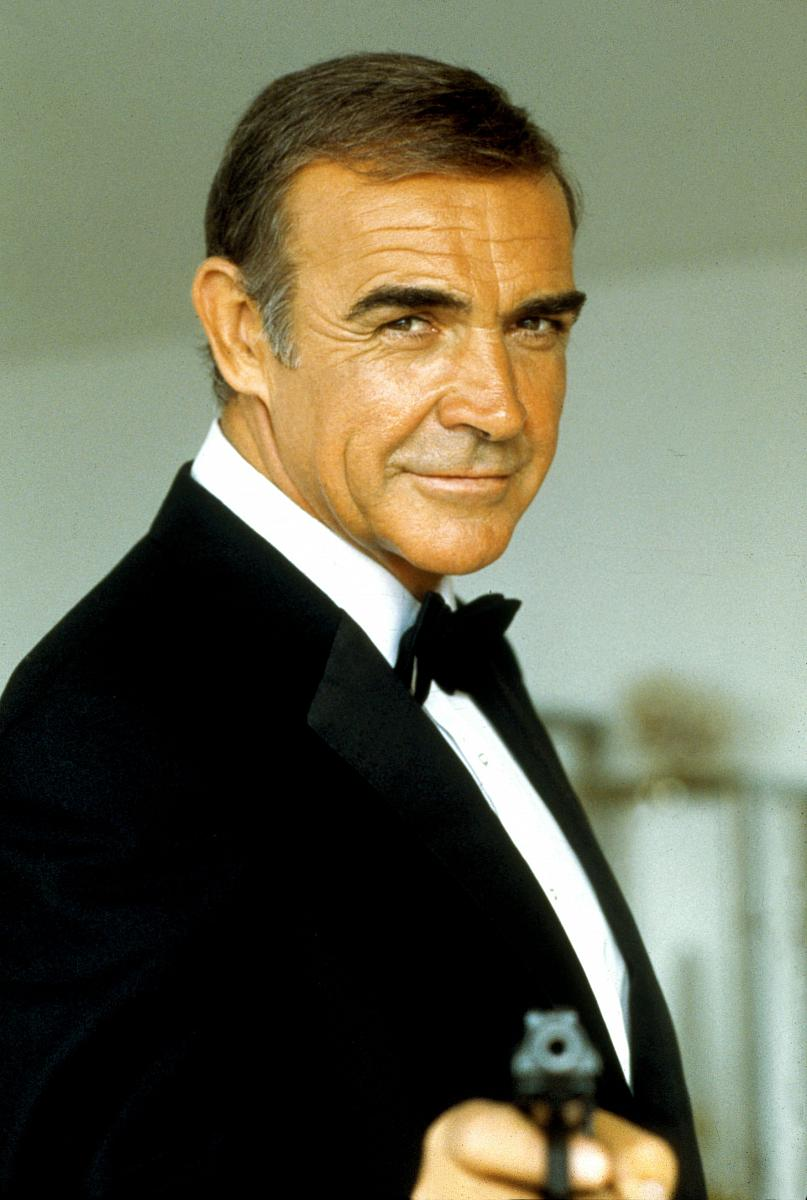 Sean Connery as James Bond, MI6 agent 007.