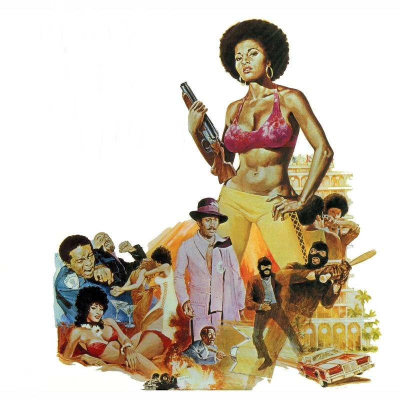 Female Action Hero: Pam Grier as Coffy