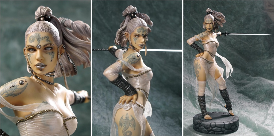 Ritual by Luis Royo 1/6th Scale PVC Statue