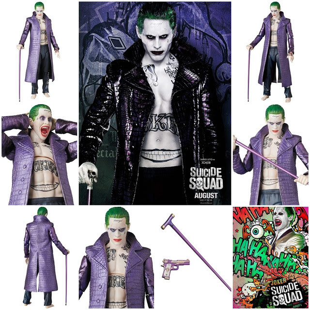 Suicide Squad: The Joker MAF EX Action Figure (Jared Leto)