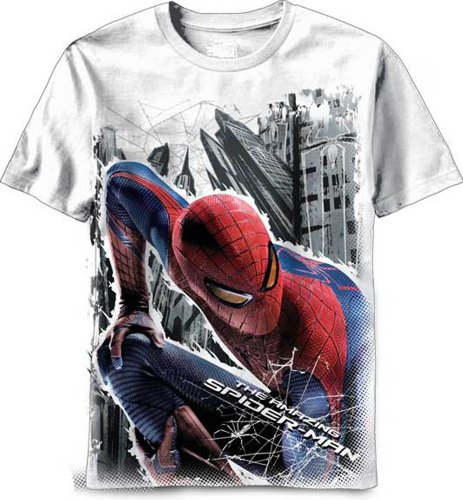 The Amazing SpiderMan Stalking Spidey Marvel Comics Adult T-Shirt