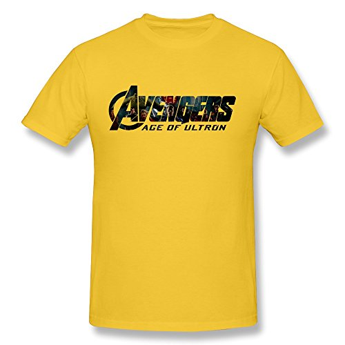 Jiaso Men's Avengers Age Ultron T Shirt